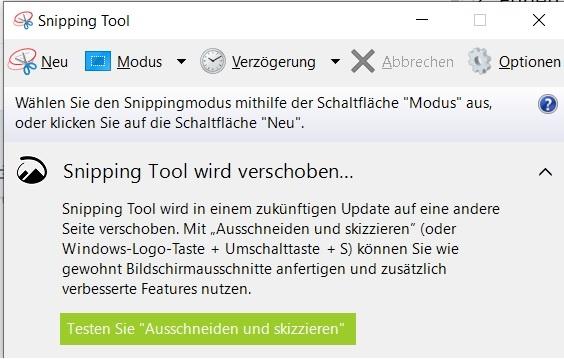 Screenshot Snipping Tool Windows